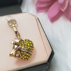 Juicy Couture Crystal Heart Charm